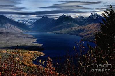 Photograph - Lake Mcdonald by Adam Jewell