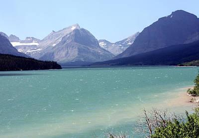 Photograph - Lake Mcdonald by Carolyn Ardolino