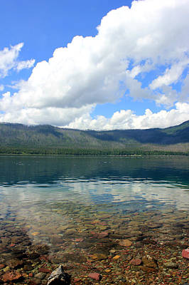 Photograph - Lake Mcdonald by Connie Zarn