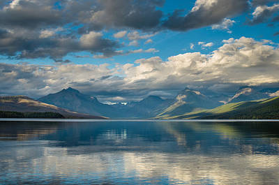 Photograph - Lake Mcdonald Evening 1 by Greg Nyquist