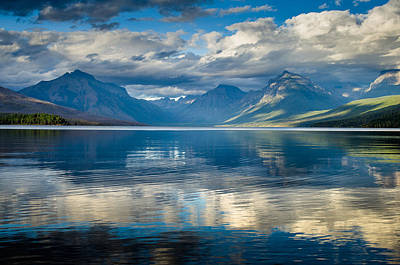 Photograph - Lake Mcdonald Evening 2 by Greg Nyquist