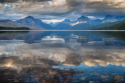 Photograph - Lake Mcdonald Evening 4 by Greg Nyquist