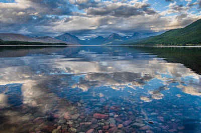 Photograph - Lake Mcdonald Evening 5 by Greg Nyquist
