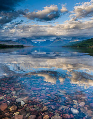 Photograph - Lake Mcdonald Evening 7 by Greg Nyquist