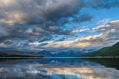 Photograph - Lake Mcdonald Evening 8 by Greg Nyquist