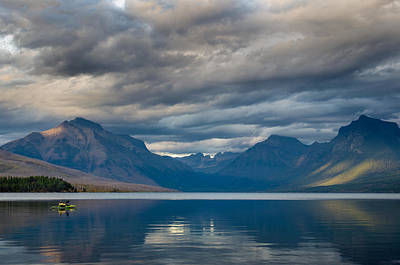 Photograph - Lake Mcdonald Evening 9 by Greg Nyquist