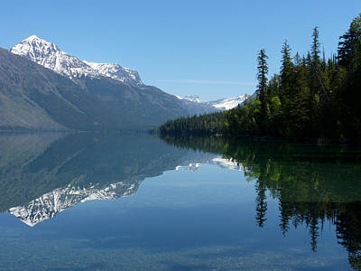 Photograph - Lake Mcdonald - Glacier National Park by Lucinda Walter