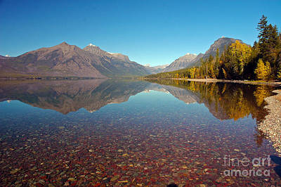 Photograph - Lake Mcdonald In Glacier Np by Cindy Murphy - NightVisions
