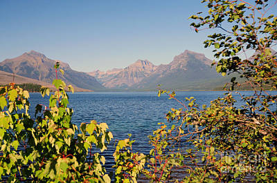 Photograph - Lake Mcdonald In Glaicer by Cindy Murphy - NightVisions