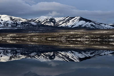 Curated Beach Towels - Lake McDonald Reflection 2 by Whispering Peaks Photography