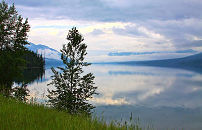 Photograph - Lake Mcdonald Reflections by Karon Melillo DeVega