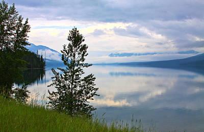 Photograph - Lake Mcdonald Reflections by Karon Melillo DeVega