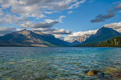 Photograph - Lake Mcdonald Splendor by Greg Nyquist