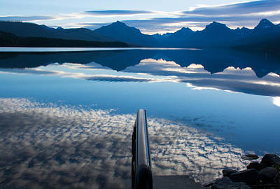Photograph - Lake Mcdonald Sunrise Clouds by Michael Gooch
