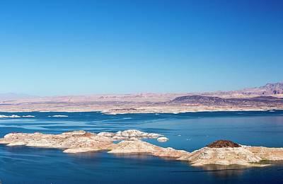 Desert Lake Photograph - Lake Mead by Ashley Cooper