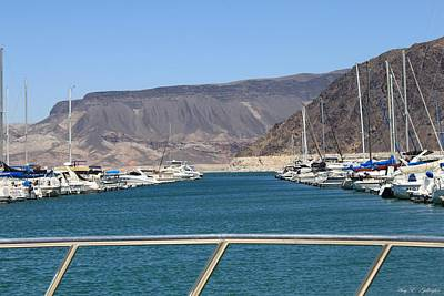 Photograph - Lake Mead From The Marina by Amy Gallagher