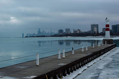 Photograph - Lake Michigan Blues by Kathleen Scanlan