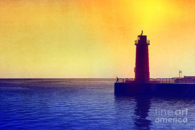 Lake Michigan Art Print by Erika Weber