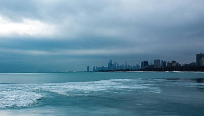 Photograph - Lake Michigan In Winter By Kathleen Scanlan by Kathleen Scanlan