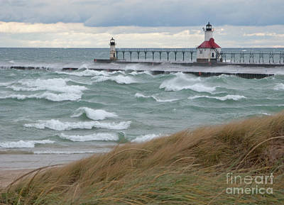 Lake Michigan Winds Art Print