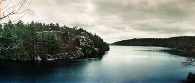 Catskill Photograph - Lake Minnewaska In Minnewaska State by Panoramic Images