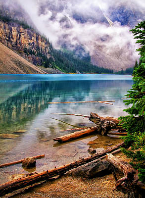 Photograph - Lake Moraine by Carolyn Derstine