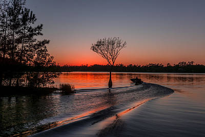Art Print featuring the photograph Lake Moultrie by RC Pics