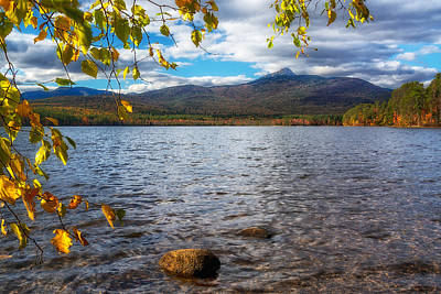 Photograph - Lake-mt.chocorua Nh by Michael Hubley