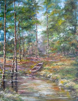 Painting - Lake Murray #2 by Gloria Turner