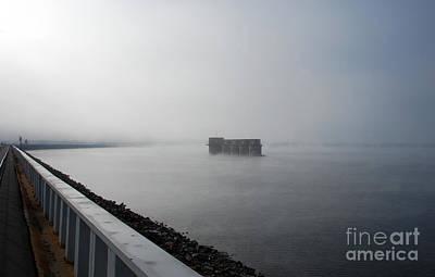 Lake Murray Photograph - Lake Murray Dam Sc by Skip Willits
