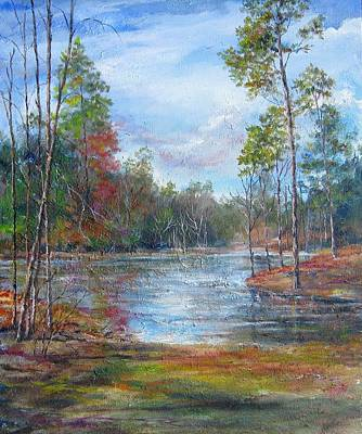 Painting - Lake Murray  by Gloria Turner