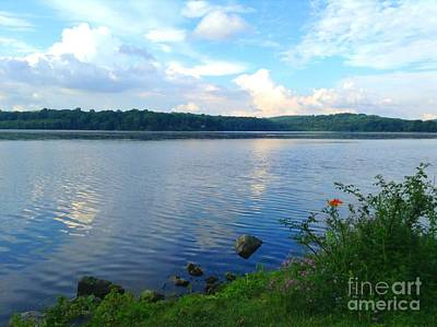 Photograph - Lake Muscenetcong Netcong New Jersey by Becky Lupe
