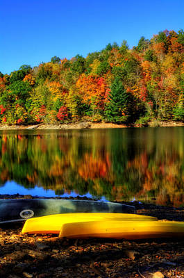 Photograph - Lake Nantahala Fall Fun by Greg Mimbs