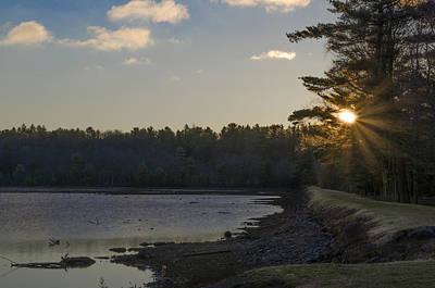 Poconos Photograph - Lake Naomi by Bill Cannon