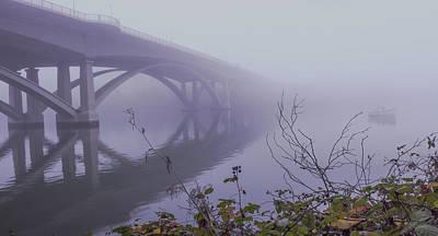 Jimerson Photograph - Lake Natoma Crossing by Wes Jimerson