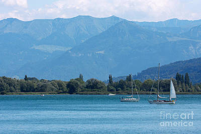 Sports Royalty-Free and Rights-Managed Images - Lake of Constance by Nick  Biemans