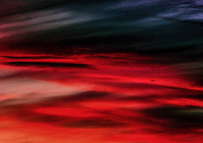 Photograph - Lake Of Fire Above by Christy Usilton