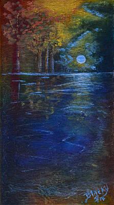 Lake Of Shadows Original by Donna Blackhall