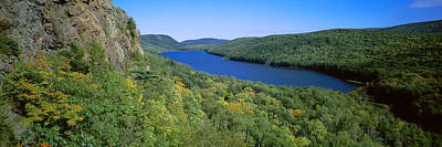Porcupine Photograph - Lake Of The Clouds In Porcupine by Panoramic Images