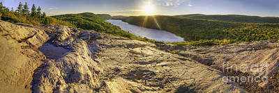 Porcupine Photograph - Lake Of The Clouds by Twenty Two North Photography