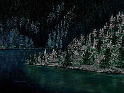 St Barbara Painting - Lake Of The Woods by Barbara St Jean