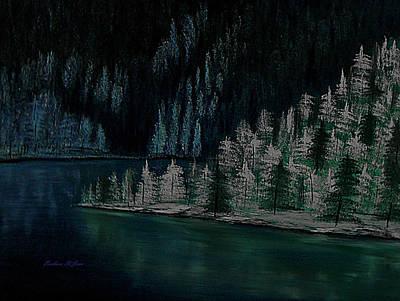 Lake Of The Woods Art Print by Barbara St Jean