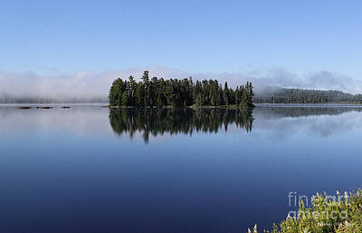 Photograph - Lake Of Two Rivers Morning Afterglow by Barbara McMahon