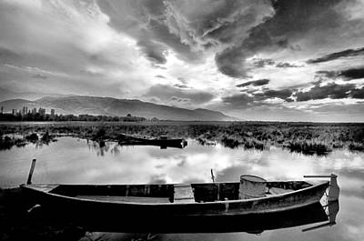 Lake Art Print by Okan YILMAZ