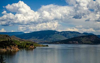 Photograph - Lake Okanagan At North End In Vernon B.c. by Jordan Blackstone