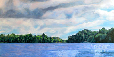 Painting - Lake Ontario Summer by Joan McGivney