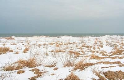 Lake Ontario Photograph - Lake Ontario Winter Shoreline by Heather Allen