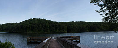 Clarks Hill Lake Photograph - Lake Oolenoy by Sandra Clark