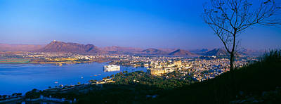 Lake Pichola, Udaipur, Rajasthan, India Art Print by Panoramic Images