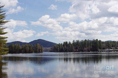 Art Print featuring the photograph Lake Placid by John Telfer